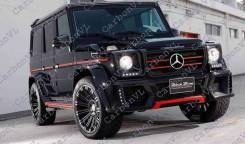 Обвес кузова аэродинамический. Mercedes-Benz G-Class, W463