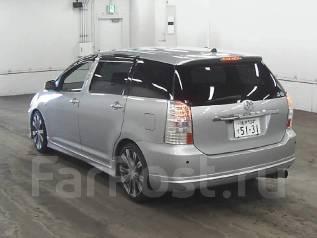 Спойлер. Toyota Wish