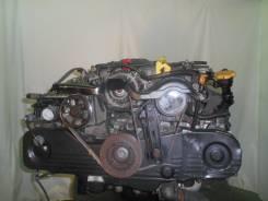 Контрактный б/у двигатель + акпп Subaru EJ20