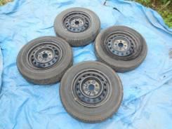 Колеса 155/80R13 на дисках 4*100