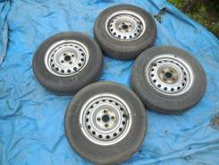 Колеса 155/80R13 LT Bridgestone на дисках 4*100