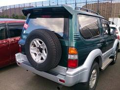 Дверь багажника. Toyota Land Cruiser Prado, KZJ90, KZJ90W Двигатель 1KZTE