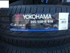 Yokohama AC02 C.Drive 2. Летние, без износа, 4 шт