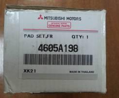 Колодка тормозная. Nissan NV200, M20, VM20 Mitsubishi L200, K74T Mitsubishi Challenger, K99W Двигатели: HR16DE, 4D56, 6G74, GDI