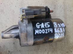 Стартер. Nissan AD, MVFY10 Двигатель GA15DS