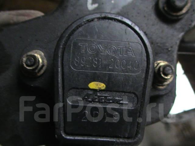 Педаль газа. Toyota Wish, ZNE10, ZNE10G Двигатель 1ZZFE