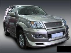 Решетка радиатора. Toyota Land Cruiser Prado, VZJ120, GRJ120W, KDJ121W, KDJ125W, GRJ125W, GRJ120, KDJ125, RZJ120, RZJ125W, KDJ121, LJ120, RZJ120W, KDJ...