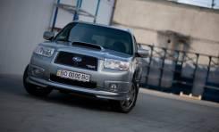 Обвес кузова аэродинамический. Subaru Forester, SG5, SG9, SG