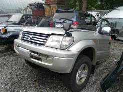 Подножка. Toyota Land Cruiser Prado, KZJ90, KZJ90W Двигатель 1KZTE