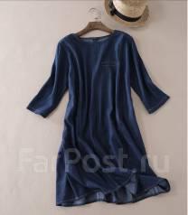 c1183ad997d Скидки 50% Стильное Джинсовое Платье в Горох - Основная одежда во ...