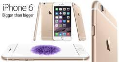 Apple iPhone 6. Б/у, 16 Гб, Желтый, Золотой
