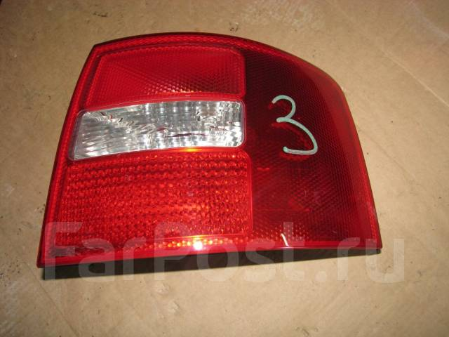 Стоп-сигнал. Audi A6 allroad quattro, 4BH Audi S6, 4B2, 4B4, 4B5, 4B6 Audi RS6, 4B4, 4B6 Audi A6, 4B2, 4B4, 4B5, 4B6 Двигатели: AKE, APB, ARE, BAS, BA...