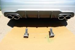 Накладка на бампер. Mercedes-Benz C-Class, W204. Под заказ