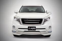 Обвес кузова аэродинамический. Toyota Land Cruiser Prado, GDJ150L, GDJ150W, GDJ151W, GRJ150, GRJ150L, GRJ150W, GRJ151, GRJ151W, KDJ150L, TRJ150, TRJ15...