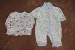 Комплекты для новорожденных. Рост: 60-68, 68-74, 74-80 см