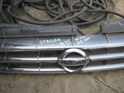 Решетка радиатора. Nissan Stagea, HM35, PNM35, PM35, NM35, M35 Двигатели: VQ30DD, VQ25DD, VQ35DE, VQ25DET