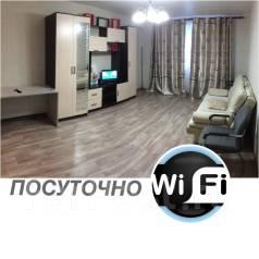 1-комнатная, улица Суворова 19Б. Индустриальный, 50кв.м.