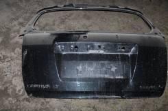 Багажный отсек. Chevrolet Captiva