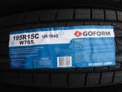 Goform W705. Зимние, без шипов, 2018 год, без износа, 4 шт