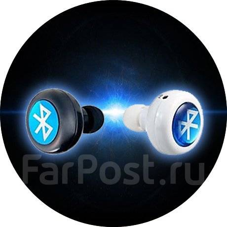 Беспроводные Bluetooth  наушники . Купить с бесплатной доставкой. Цена 950 рублей