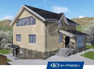 M-fresh Every day (Готовый проект дома с цоколем). 300-400 кв. м., 3 этажа, 6 комнат, дерево