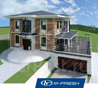 M-fresh Michael-Jackson (Покупайте сейчас проект со скидкой 20%! ). 400-500 кв. м., 3 этажа, 6 комнат, кирпич