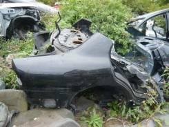Задняя часть автомобиля. Mitsubishi Galant, E52A Двигатель 4G93