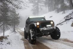 Решетка радиатора. Jeep Wrangler, JK