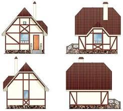 Газосиликатный дом 18-30П. 200-300 кв. м., 2 этажа, 10 комнат, бетон