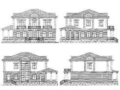 Проект кирпичного дома: 17-395К. 200-300 кв. м., 2 этажа, 8 комнат, бетон