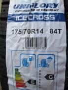 Uniglory Ice Cross. Зимние, под шипы, 2015 год, без износа, 4 шт