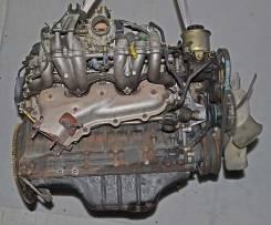 Двигатель в сборе. Toyota Crown Двигатель 1GE