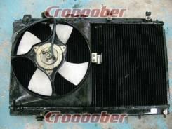 Радиатор охлаждения двигателя. Mitsubishi Lancer Evolution, CP9A, CN9A Mitsubishi Lancer, CN9A, CP9A Двигатель 4G63T