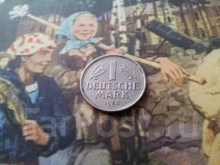 ФРГ. 1 марка 1950 года. Монетный двор J.