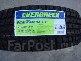 Evergreen ICETOUR i3. Зимние, под шипы, без износа, 4 шт