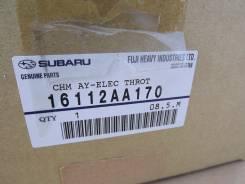 Заслонка дроссельная. Subaru Legacy B4 Subaru Legacy Subaru Impreza WRX Subaru Forester Двигатель EJ255