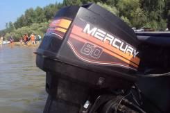 Mercury. 60,00л.с., 2х тактный, бензин, нога L (508 мм), Год: 1999 год