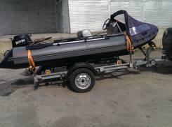 Моторная лодка X-River (комплект для тролинга). 2015 год год, двигатель подвесной, бензин
