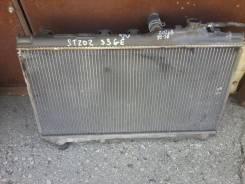 Радиатор охлаждения двигателя. Toyota Carina ED, ST202 Двигатель 3SGE