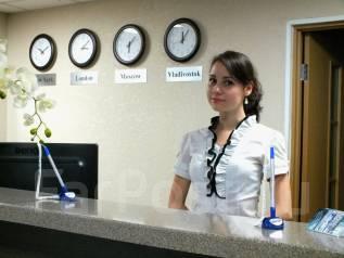 Администратор клиники. Средне-специальное образование, опыт работы 1 год