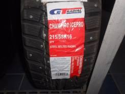 GT Radial Champiro IcePro 2. Зимние, шипованные, без износа, 1 шт