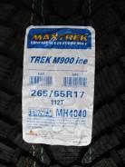 Maxtrek Trek M900. Зимние, под шипы, 2016 год, без износа, 4 шт