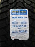 Maxtrek Trek M900. Зимние, под шипы, 2015 год, без износа, 4 шт