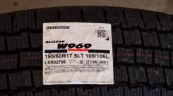 Bridgestone Blizzak W969. Зимние, без шипов, 2014 год, без износа, 6 шт