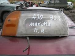 Габаритный огонь. Nissan Maxima