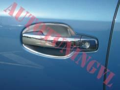 Накладка на ручки дверей. Toyota Land Cruiser
