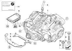 Редуктор. BMW X6, E71 Двигатель M57TUE2