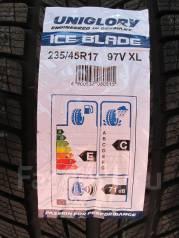 Uniglory Ice Blade. Зимние, без шипов, 2015 год, без износа, 4 шт