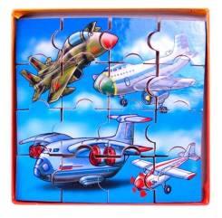 Самолеты, вертолеты, космические корабли.