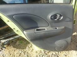 Обшивка крышки багажника. Nissan March, K13, NK13